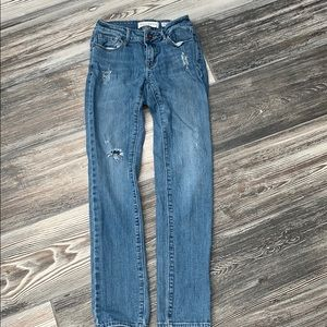 PacSun brand bull head low rise skinny jeans
